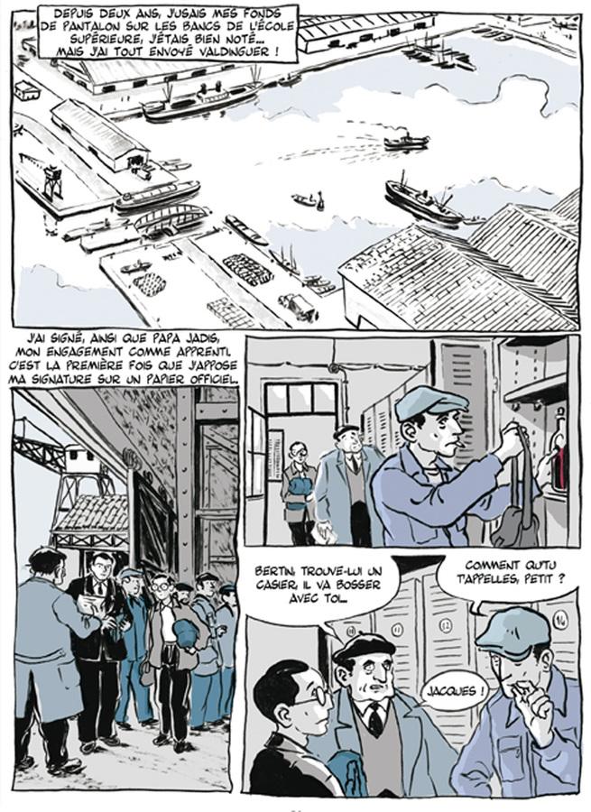 Extrait 1 : Apprenti - Ouvrier : Apprenti, mémoires d'avant guerre