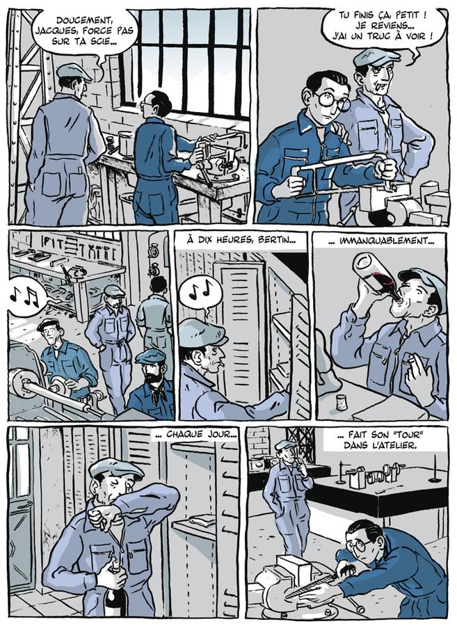 Extrait 4 : Apprenti - Ouvrier : Apprenti, mémoires d'avant guerre