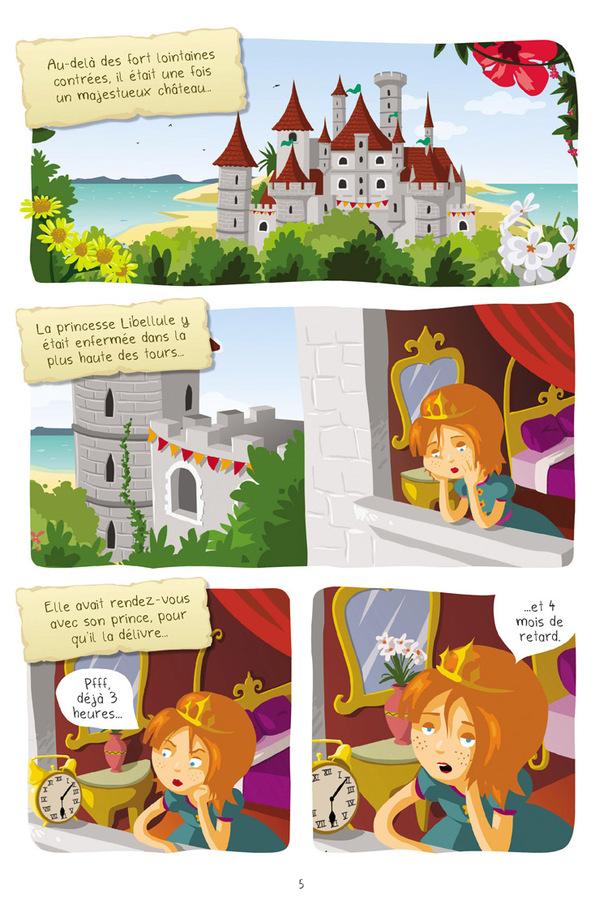 Extrait 0 : Princesse Libellule T1 : Cherche prince désespérément