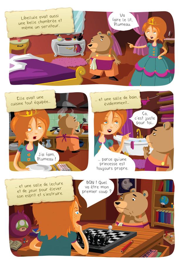 Extrait 3 : Princesse Libellule T1 : Cherche prince désespérément