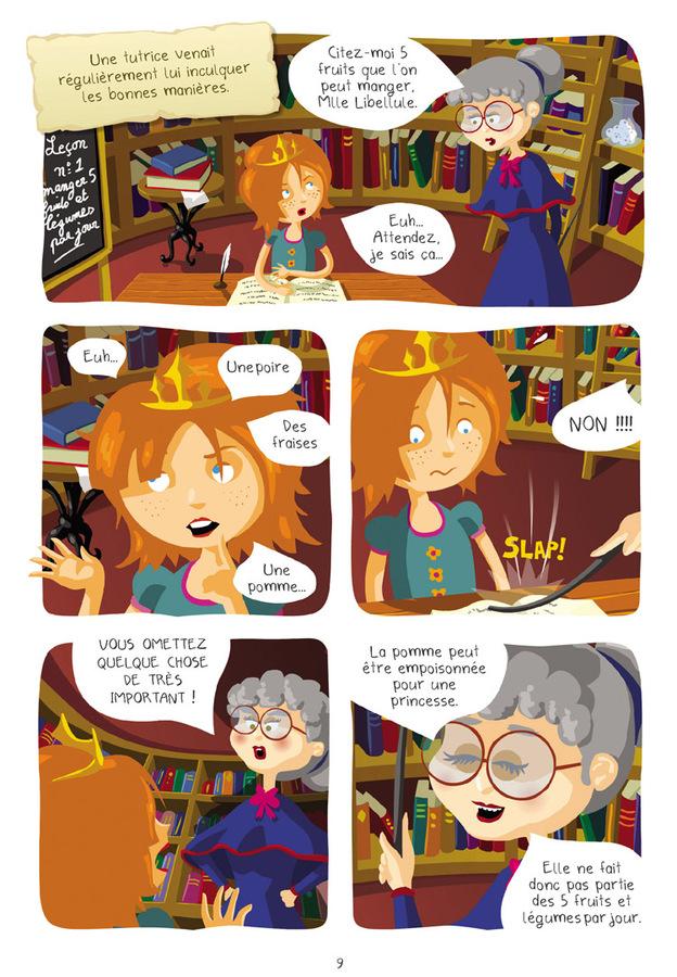 Extrait 4 : Princesse Libellule T1 : Cherche prince désespérément