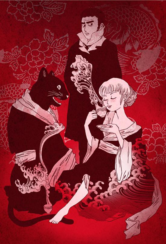 Extrait 4 : Le Chat du kimono : Les Carnets du kimono