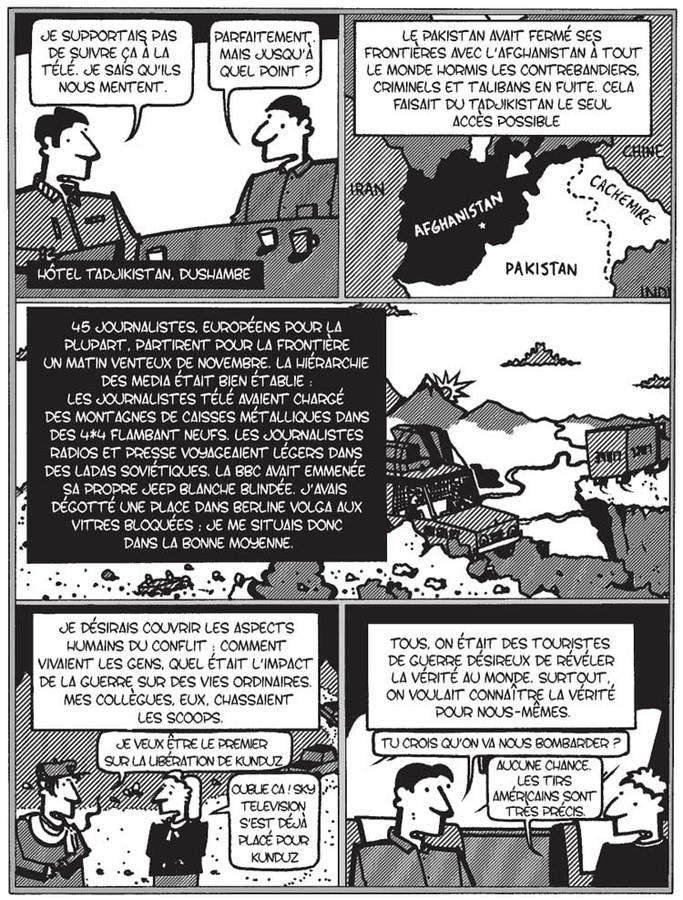 Extrait 9 : Passage afghan