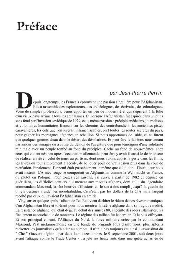 Extrait 1 : Passage afghan