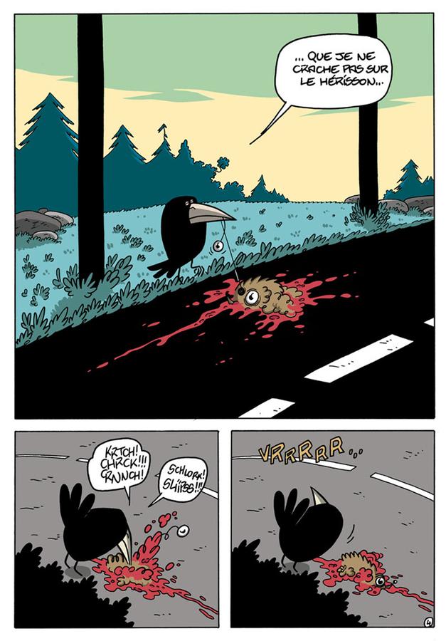 Extrait 3 : Le Chant du corbeau