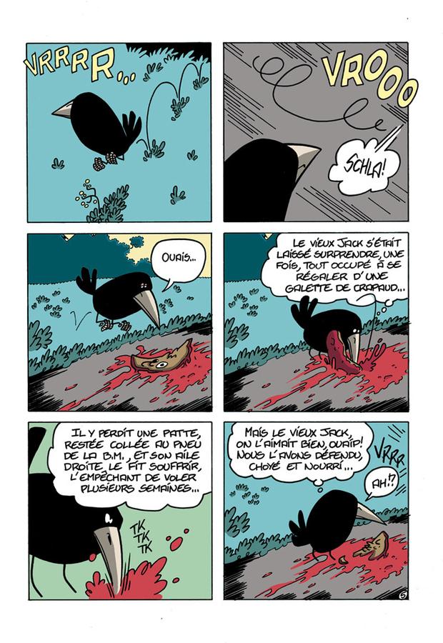 Extrait 4 : Le Chant du corbeau