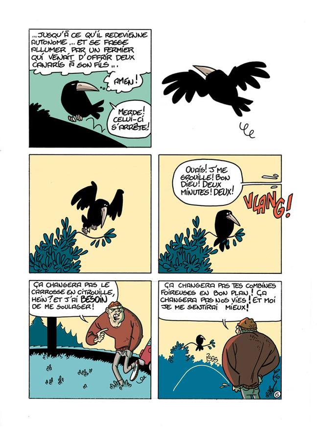Extrait 5 : Le Chant du corbeau