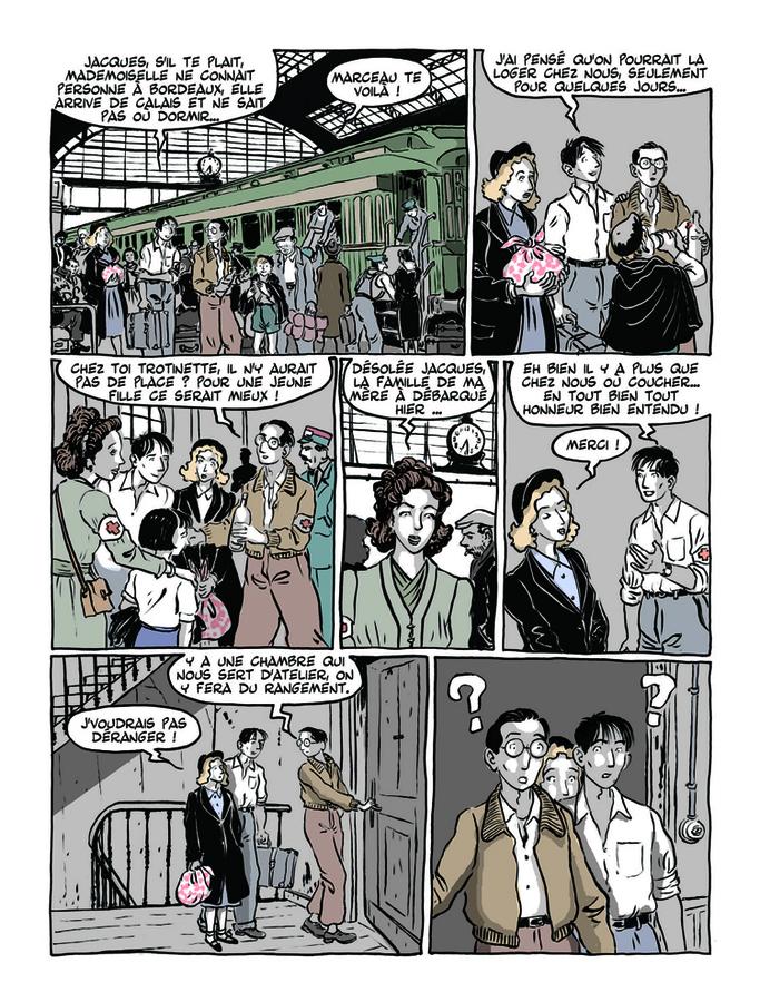 Extrait 1 : Apprenti - Ouvrier T2 : Ouvrier, Mémoires sous l'Occupation - 1ere partie