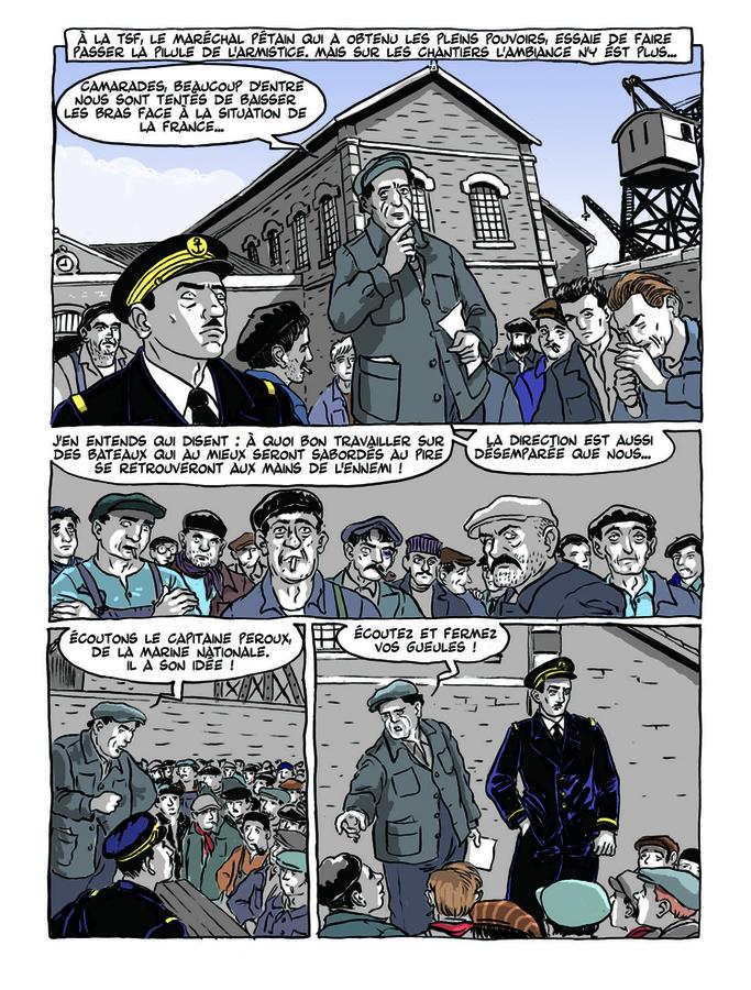 Extrait 3 : Apprenti - Ouvrier T2 : Ouvrier, Mémoires sous l'Occupation - 1ere partie