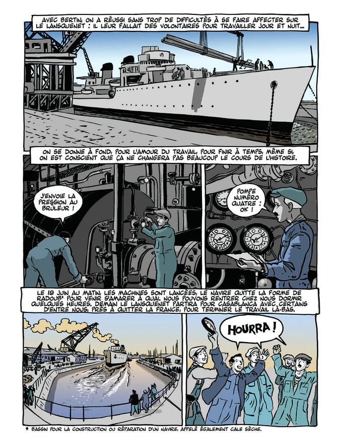 Extrait 5 : Apprenti - Ouvrier T2 : Ouvrier, Mémoires sous l'Occupation - 1ere partie