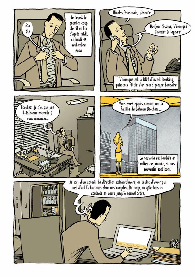 Extrait 3 : Lehman, la crise et moi