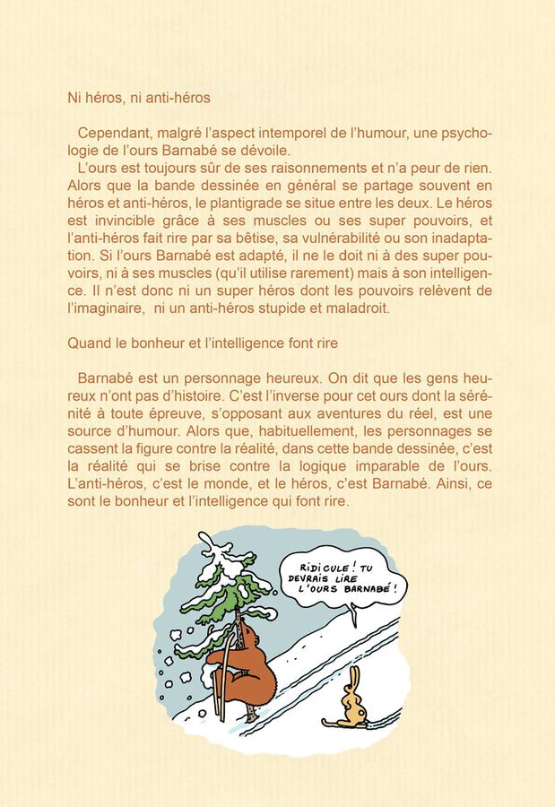 Extrait 2 : L'Ours Barnabé - Intégrale V3