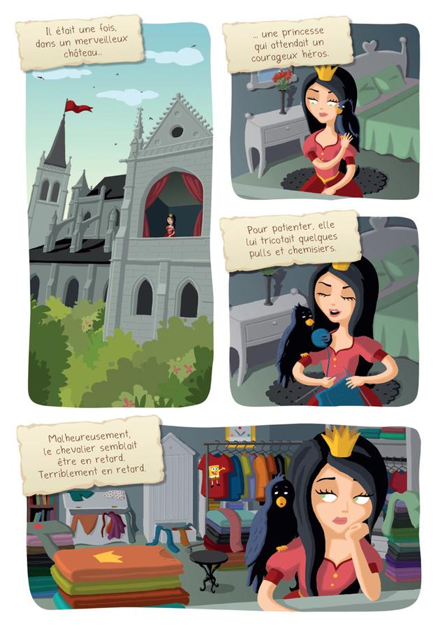 Extrait 0 : Princesse Libellule T2 : N'aime pas les princesses !