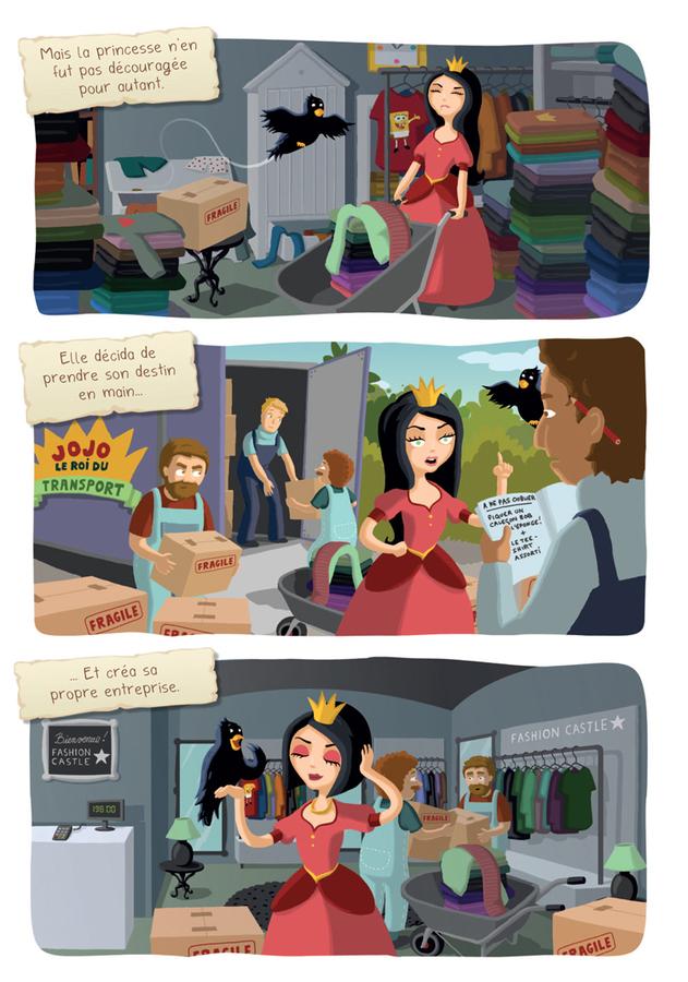 Extrait 1 : Princesse Libellule T2 : N'aime pas les princesses !