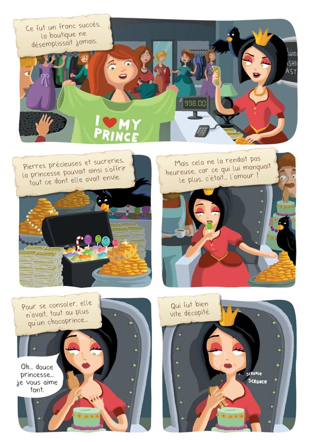Extrait 2 : Princesse Libellule T2 : N'aime pas les princesses !