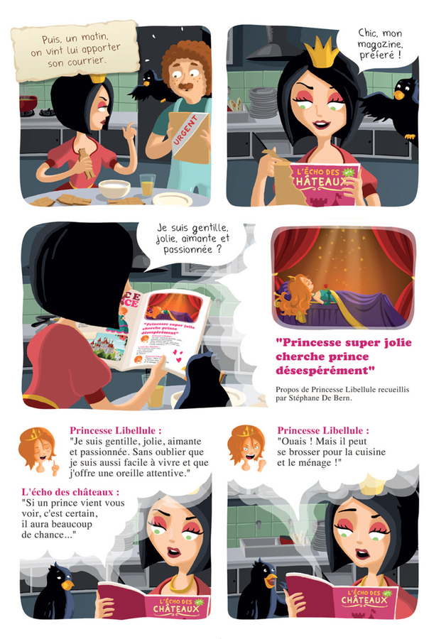 Extrait 3 : Princesse Libellule T2 : N'aime pas les princesses !