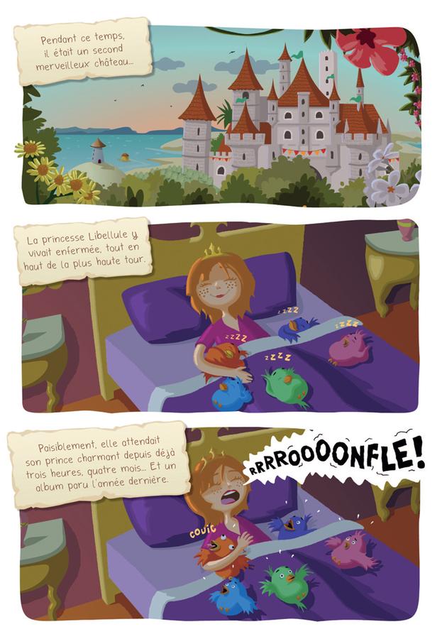 Extrait 5 : Princesse Libellule T2 : N'aime pas les princesses !