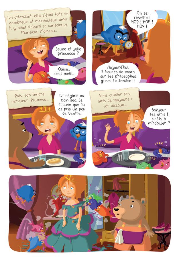 Extrait 6 : Princesse Libellule T2 : N'aime pas les princesses !