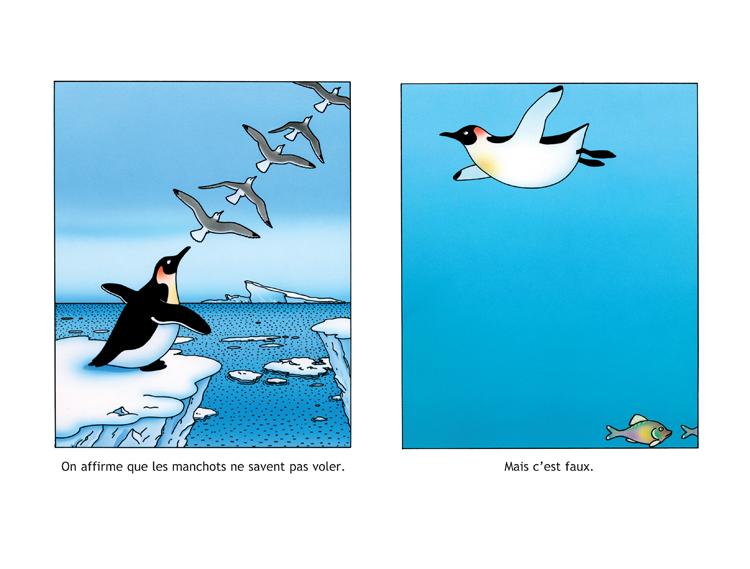 Extrait 1 : Les Manchots sont de sacrés pingouins !
