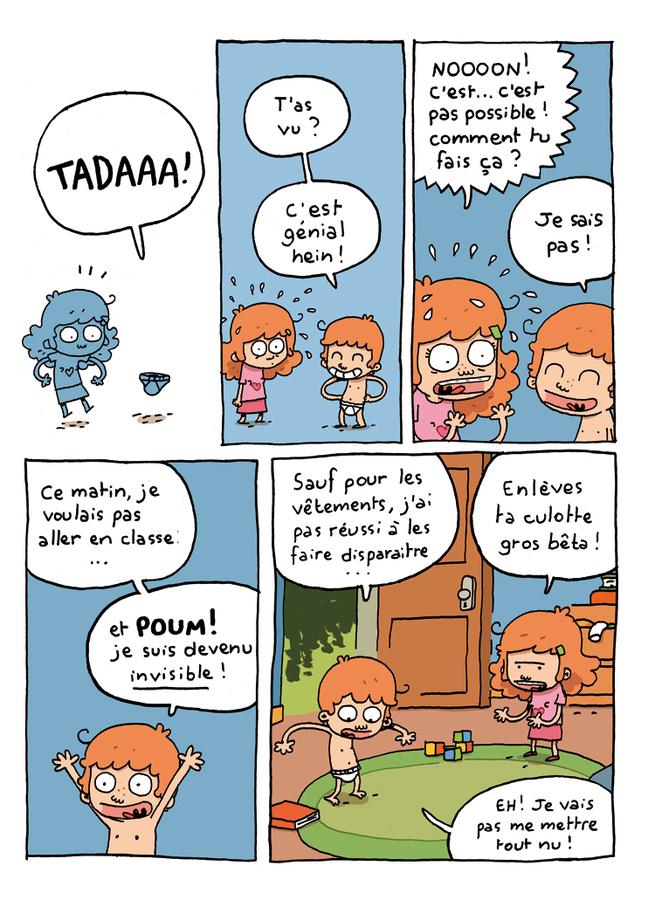 Extrait 1 : Où es-tu Léopold ? T1 : Invisible, c'est pas du jeu !