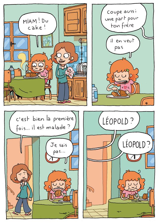 Extrait 3 : Où es-tu Léopold ? T1 : Invisible, c'est pas du jeu !