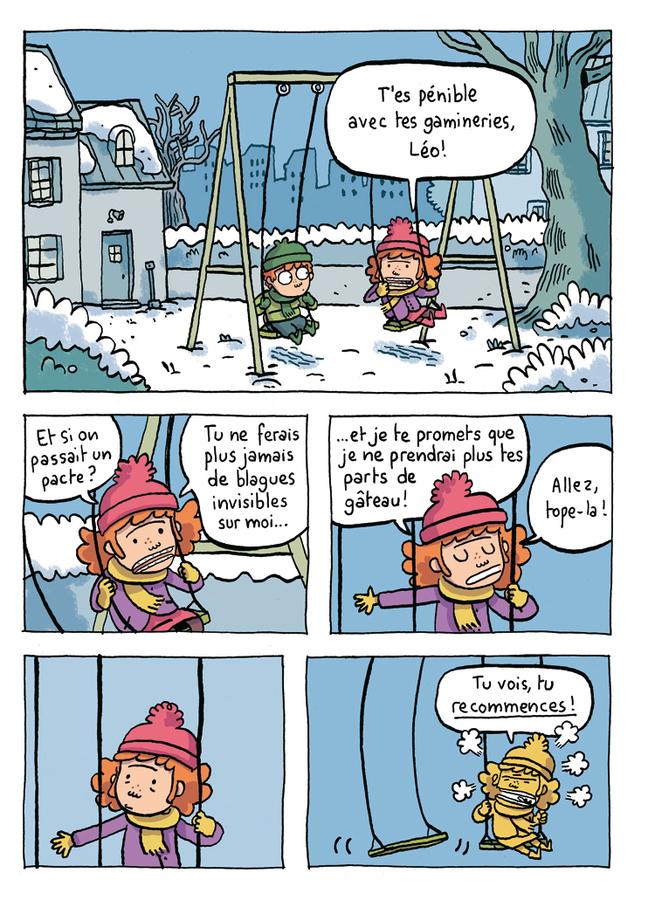 Extrait 6 : Où es-tu Léopold ? T1 : Invisible, c'est pas du jeu !