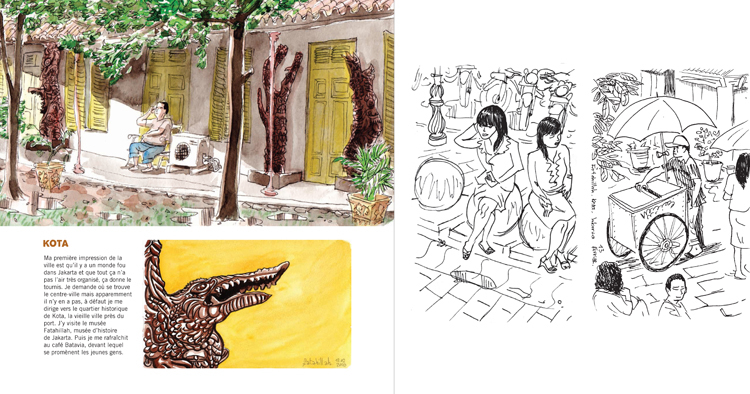 Extrait 0 : Kompilasi Komikus : [Carnet de résidences] en Indonésie