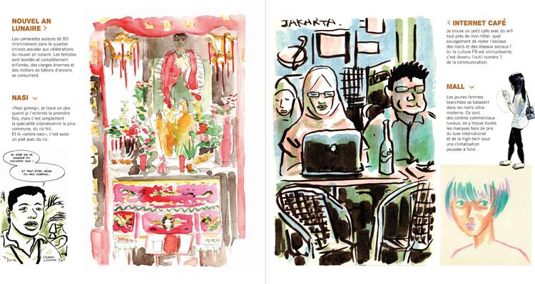 Extrait 1 : Kompilasi Komikus : [Carnet de résidences] en Indonésie