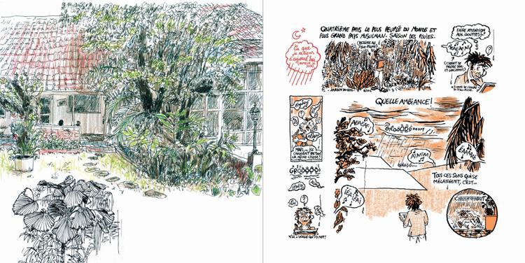 Extrait 2 : Kompilasi Komikus : [Carnet de résidences] en Indonésie