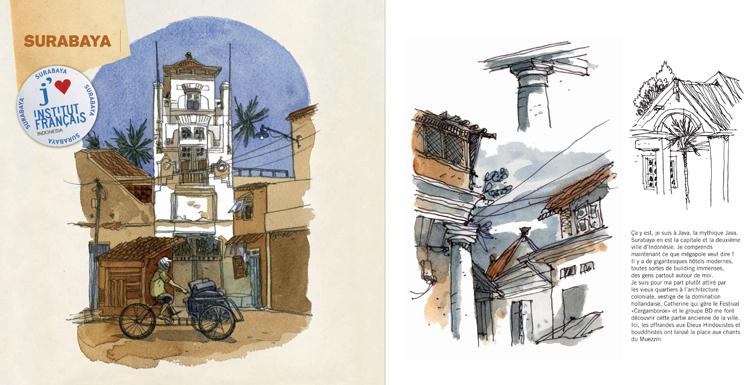 Extrait 4 : Kompilasi Komikus : [Carnet de résidences] en Indonésie