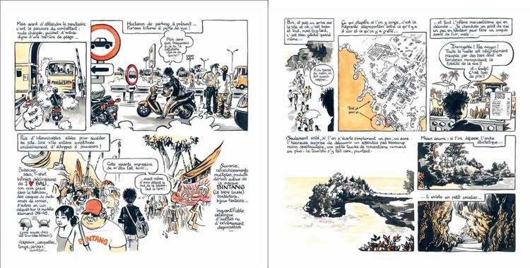 Extrait 6 : Kompilasi Komikus : [Carnet de résidences] en Indonésie
