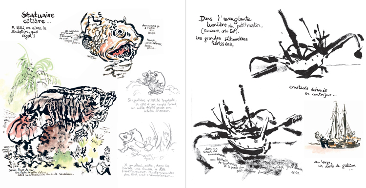 Extrait 7 : Kompilasi Komikus : [Carnet de résidences] en Indonésie