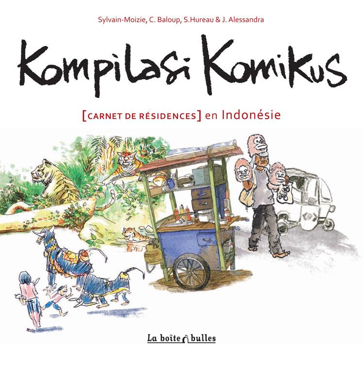 Kompilasi Komikus : [Carnet de résidences] en Indonésie
