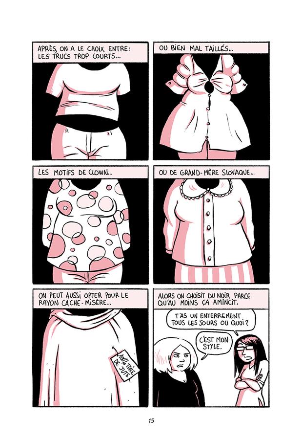 Extrait 3 : Mon gras et moi