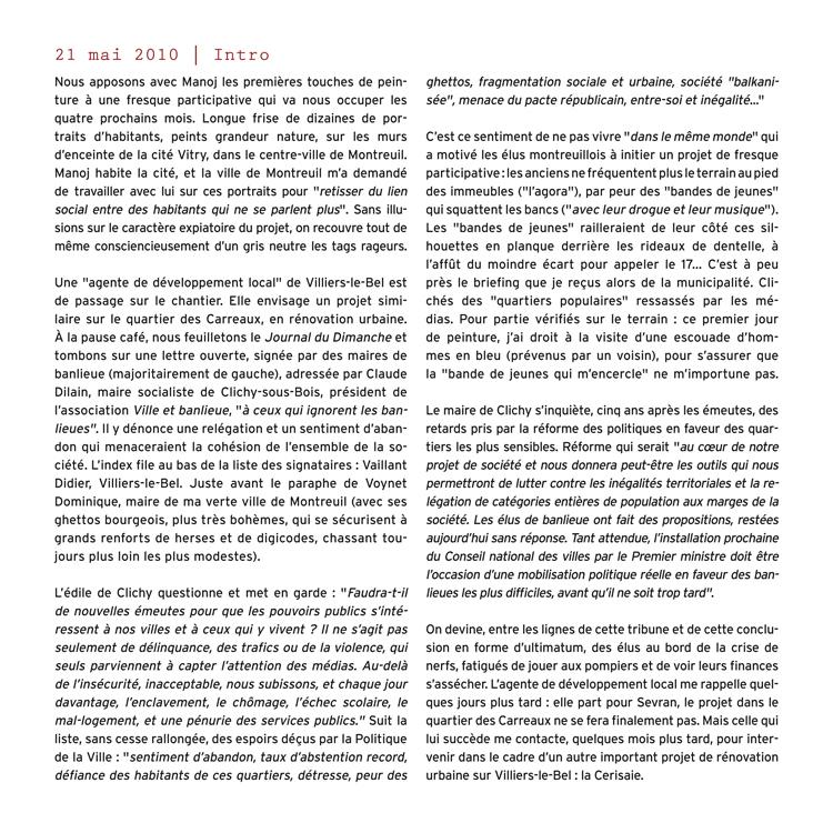 Extrait 3 : Villiers rebelle : [Carnet de rencontres] à la Cerisaie