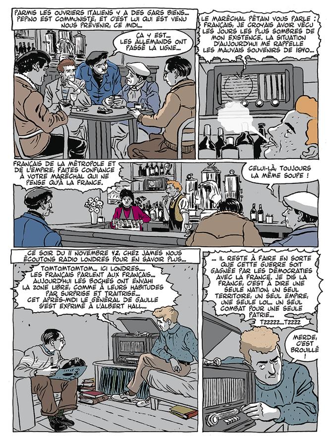 Extrait 5 : Apprenti - Ouvrier T3 : Ouvrier, Mémoires sous l'Occupation - 2ème partie