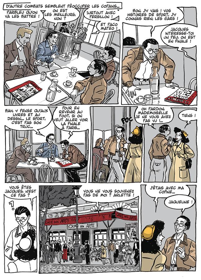 Extrait 6 : Apprenti - Ouvrier T3 : Ouvrier, Mémoires sous l'Occupation - 2ème partie