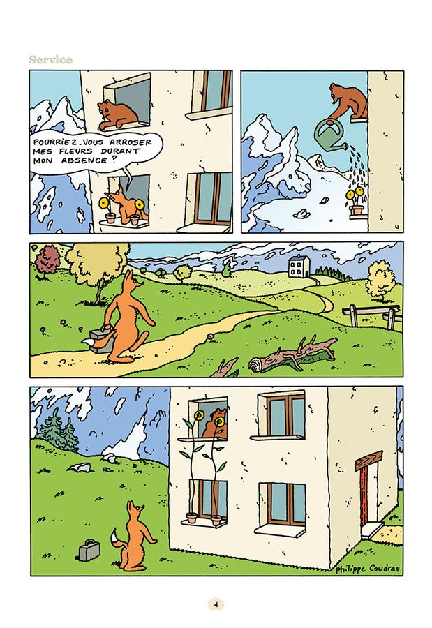 Extrait 1 : L'Ours Barnabé V15 : Un monde parfait