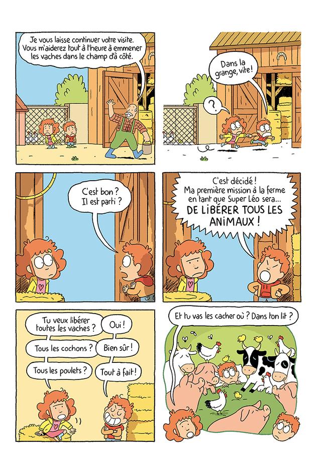 Extrait 0 : Où es-tu Léopold ? T3 : Micmac à la ferme