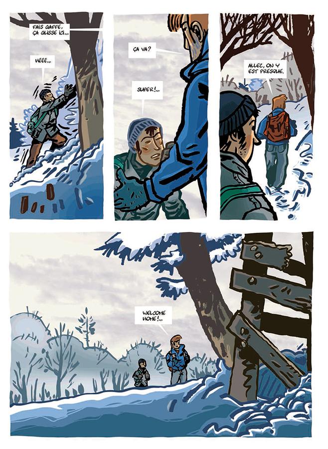 Extrait 3 : La Cabane