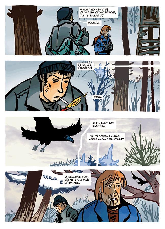 Extrait 4 : La Cabane