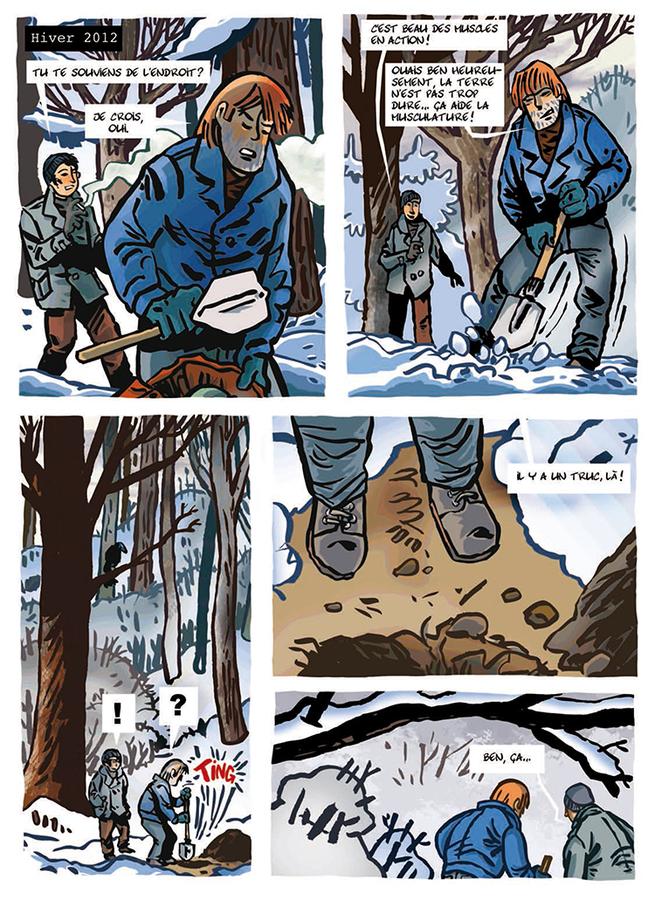 Extrait 7 : La Cabane