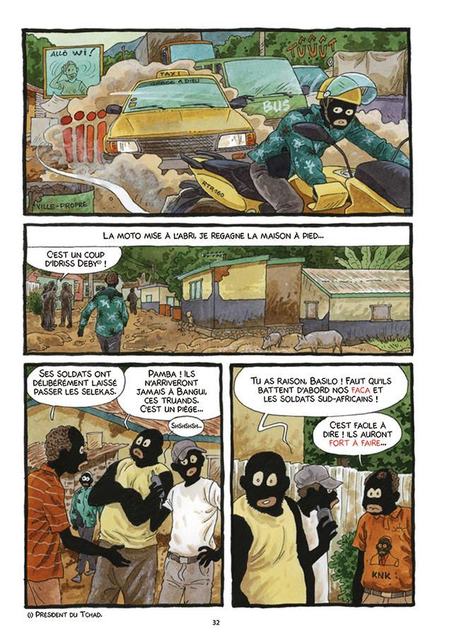Extrait 2 : Tempête sur Bangui