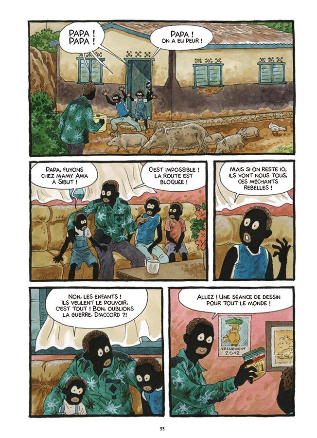 Extrait 3 : Tempête sur Bangui