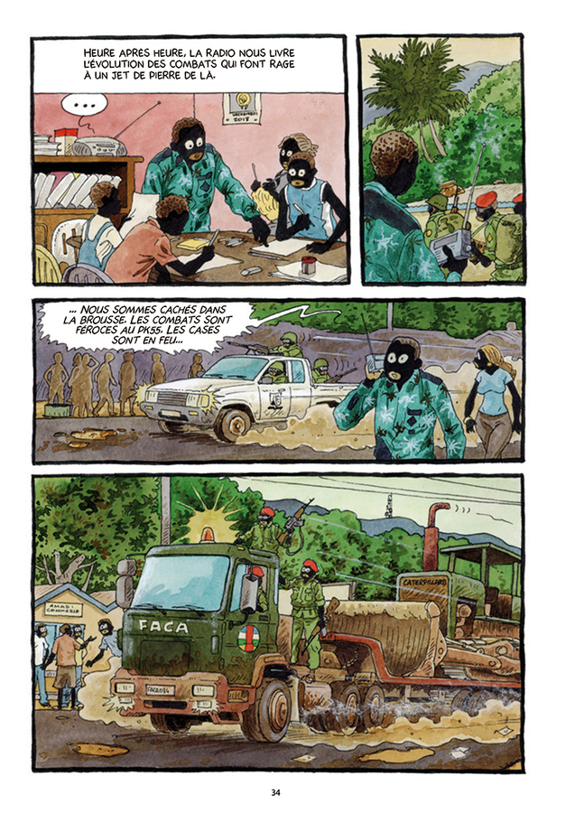 Extrait 4 : Tempête sur Bangui