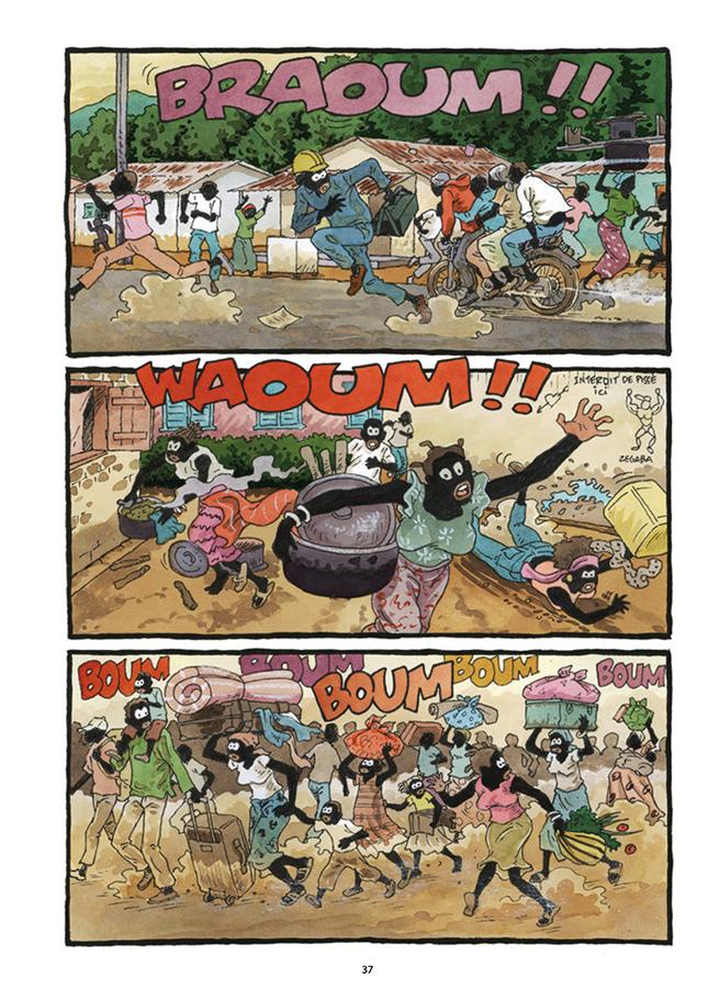 Extrait 7 : Tempête sur Bangui