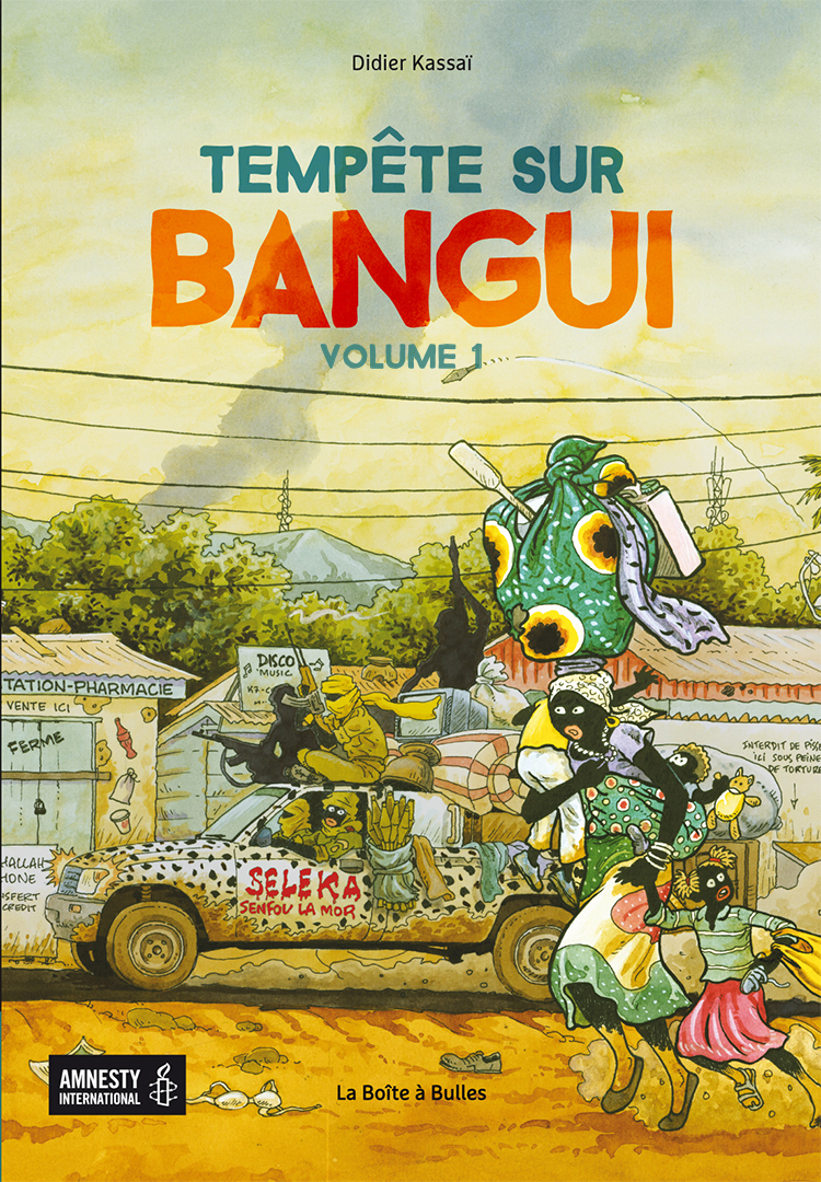 Tempête sur Bangui
