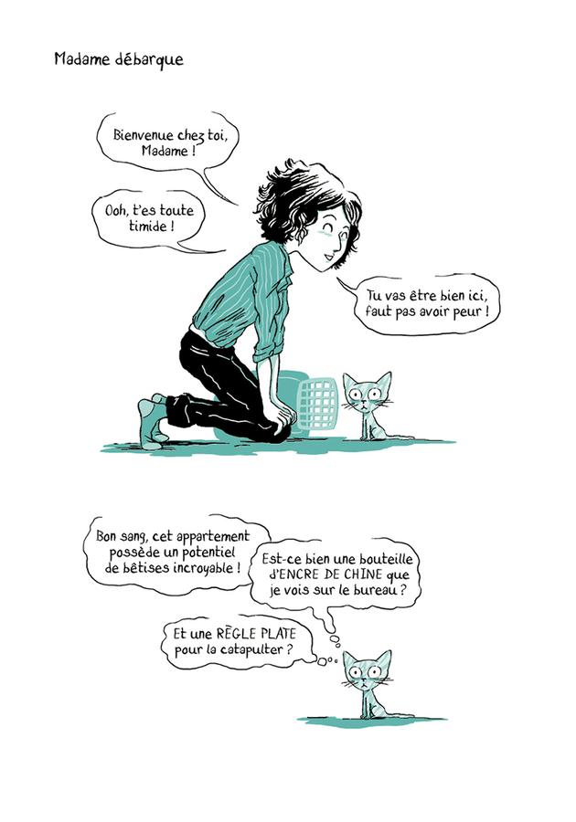 Extrait 0 : Madame T1 : L'année du Chat