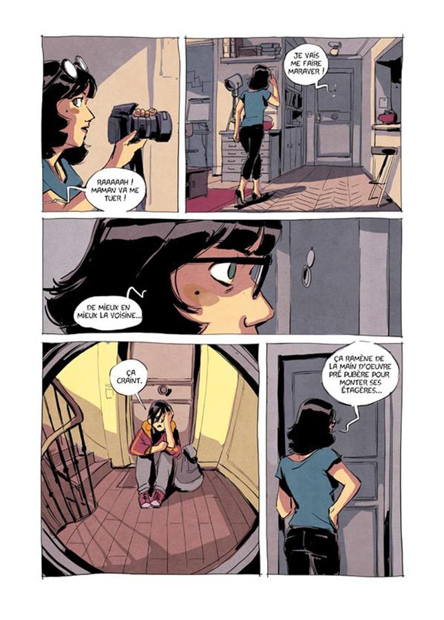 Extrait 6 : Luisa, Ici et là