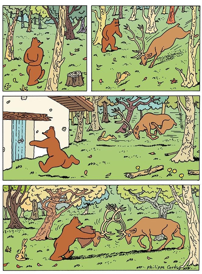 Extrait 3 : L'Ours Barnabé T17 : Un pour tous, tous pour un !